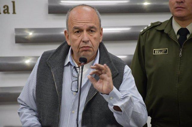 Bolivia.- Áñez cesa a los ministros de Gobierno y Educación, censurados en el Pa
