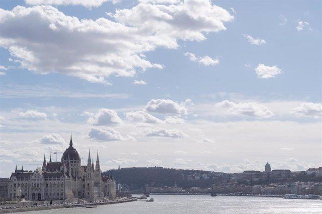 El Parlamento de Hungría.