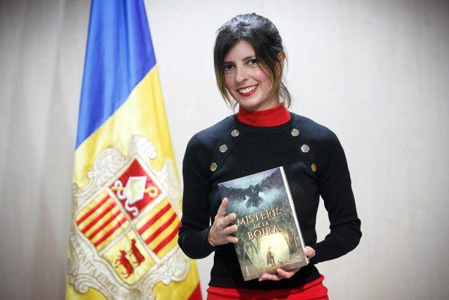 La guanyadora de IX Premi Carlemany per al foment de la lectura, Selena Soro