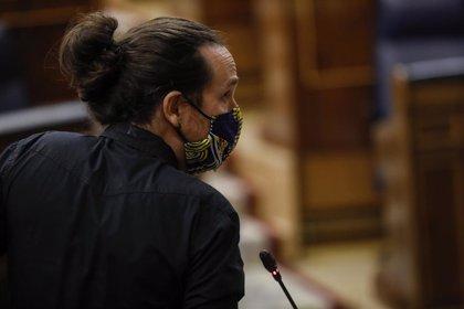 Pablo Iglesias intervendrá también en el debate de la moción de censura de Vox