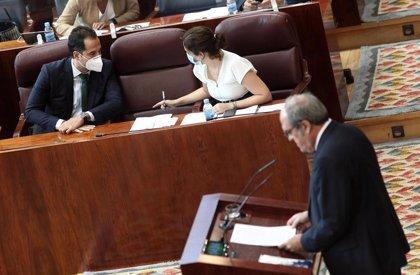 """Gabilondo pide a Ayuso """"consideración"""" con Aguado que acude a las reuniones del Grupo Covid para conocer la situación"""