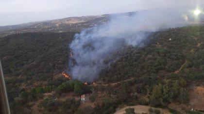 Controlado el incendio forestal declarado en El Ronquillo (Sevilla)