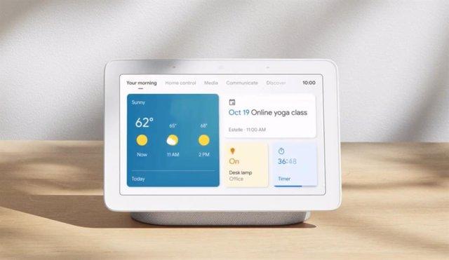 Las pantallas inteligentes de Google se actualizan con una nueva interfaz y mejo