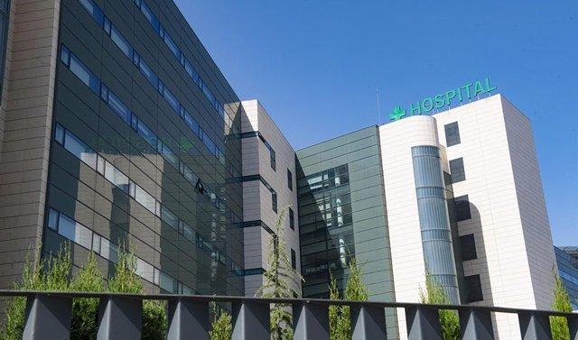 El Hospital Universitario San Cecilio de Granada.