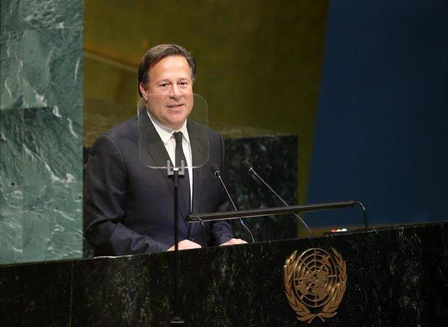 Juan Carlos Varela en la ONU