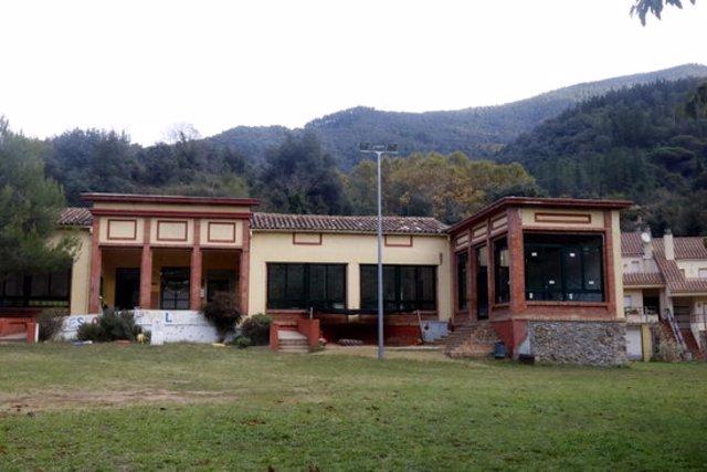 Pla general de l'escola La Vall d'Osor aquest 20 d'octubre del 2020 (Horitzontal)