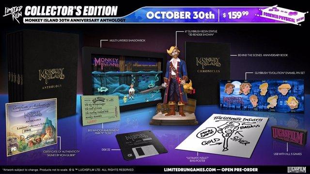 Monkey Island celebra su 30 aniversario con una colección especial para PC de su