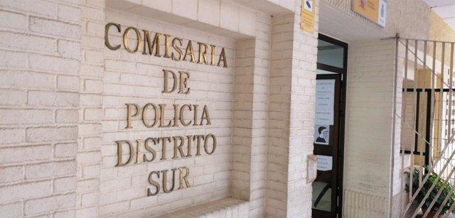 Sede de la Comisaría de la Policía Nacional en el Distrito Sur de Sevilla