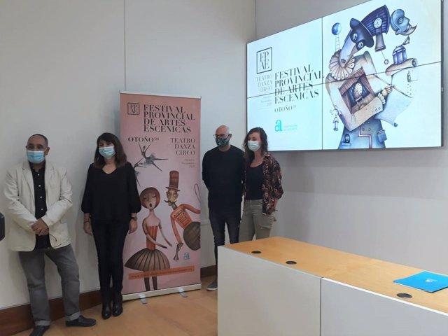 Presentación del Festival Provincial de Artes Escénicas Otoño 2020