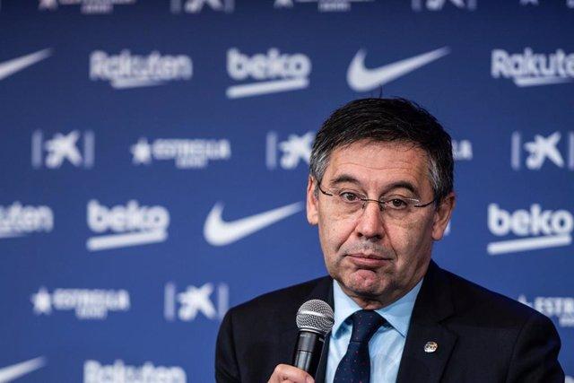 Josep María Bartomeu, presidente del Barcelona