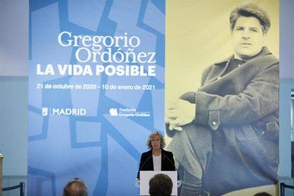 """Una exposición en CentroCentro recuerda a Gregorio Ordóñez, político """"de extrema generosidad"""" asesinado por ETA"""