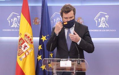 Vox vaticina que PSOE y PP llegarán a un acuerdo sobre la renovación del CGPJ y se volverán a repartir los jueces