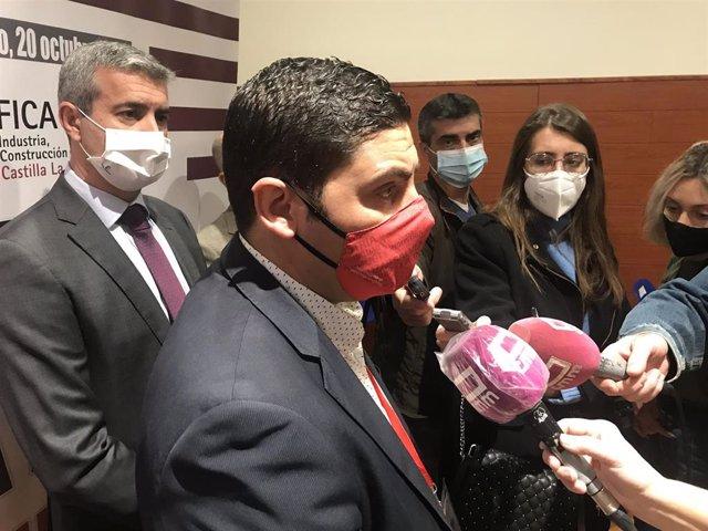 Raúl Alguacil, candidato a secretario general de UGT-FICA