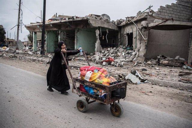 Irak.- Mueren cuatro civiles por la explosión de una mina al paso de su vehículo