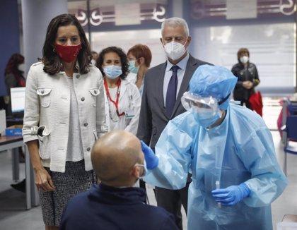 """Carballedo destaca """"la rapidez y la fiabilidad"""" de los test de antígenos que está haciendo la Comunidad"""