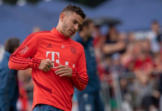 """Fútbol/Champions.- Lucas Hernández: """"No me arrepiento de mi fichaje por el Bayer"""