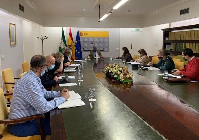 Reunión de la comisión provincial del plan director de convivencia y seguridad escolar