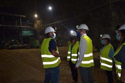 La Junta respalda el proyecto de diversificación de la mina de Órgiva (Granada)