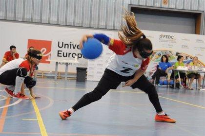 Las selecciones masculina y femenina de goalball se concentran en Madrid