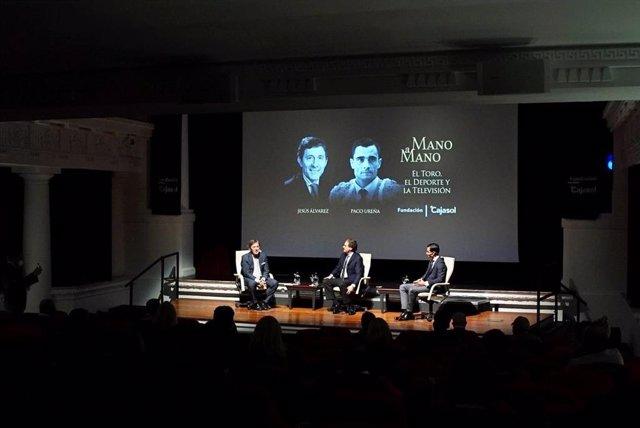 Paco Ureña y Jesús Álvarez, en los Mano a Mano de la Fundación Cajasol