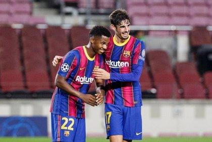 El Barça compra tranquilidad antes del Clásico