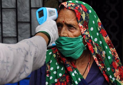 Coronavirus.- India supera los 7,6 millones de contagios de coronavirus