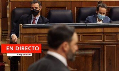 Moción de censura de Vox | Directo: últimas noticias de la actualidad del Congreso de los Diputados