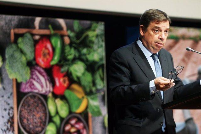 El ministro de Agricultura, Pesca y Alimentación de España, Luis Planas