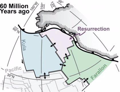 Localizada una placa tectónica desaparecida en el norte de Canadá