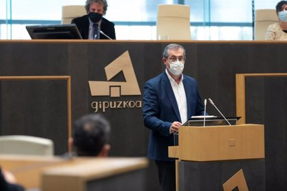 "El diputado general de Gipuzkoa apuesta por ser ""absolutamente duro e inflexible"" con la ultraderecha"