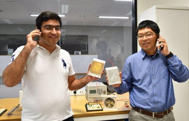 Nanogeneradores de energía recolectan potencia a nuestro alrededor