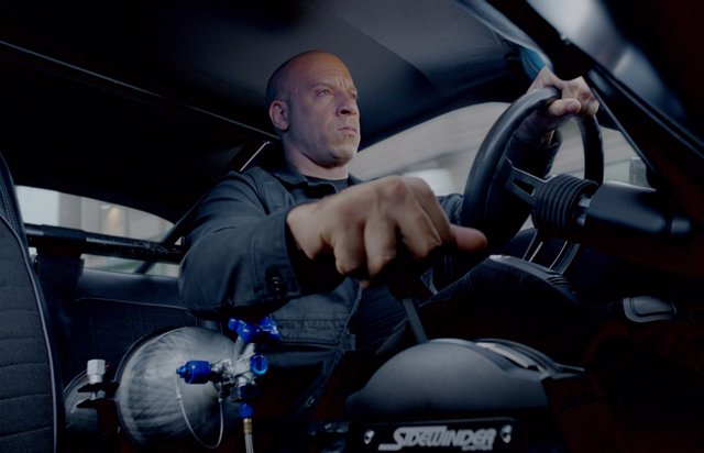 Vin Diesel en Fast and Furious 9