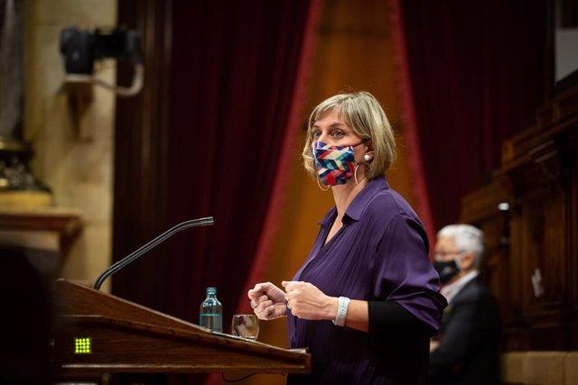 La consellera de Salut de la Generalitat, Alba Vergés