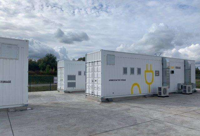 Almacenamiento de energía de Renault.