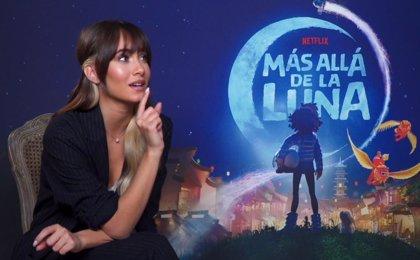 """Aitana pone voz y música a Más allá de luna: """"Apenas había heroínas en el cine de animación"""""""