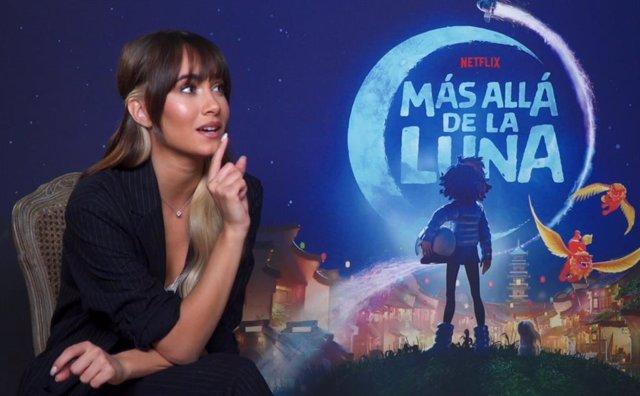Aitana pone voz al tema princpal de Más Allá de la Luna, nueva película de animación de Netflix