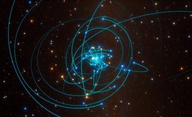 El agujero negro central de nuestra galaxia gira con lentitud