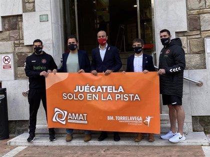AMAT y BM Torrelavega se unen en la lucha contra la adicción al juego
