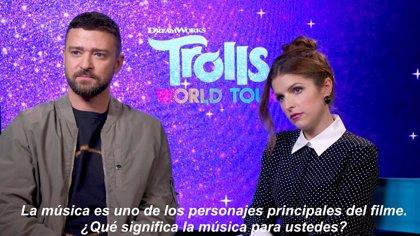 "Justin Timberlake pone voz a Trolls 2: Gira mundial: ""La música lo es todo para mí"""