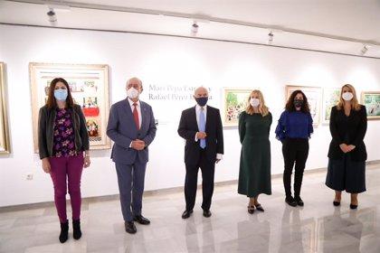 Las Salas Mingorance de Málaga muestran 'Mari Pepa Estrada y Rafael Pérez Estrada. Genealogías artísticas malagueñas'