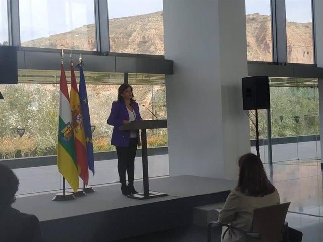 La presidenta del Govern de La Rioja, Concha Andreu