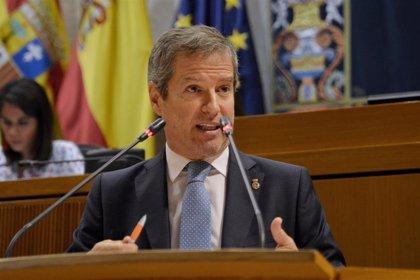"""Pérez Calvo (Cs) apoya el Decreto del Gobierno de Aragón y alerta del """"espeluznante"""" avance de la pandemia"""