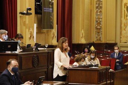 La inversión social se incrementa un 34% en los últimos cinco años en Baleares, según Armengol
