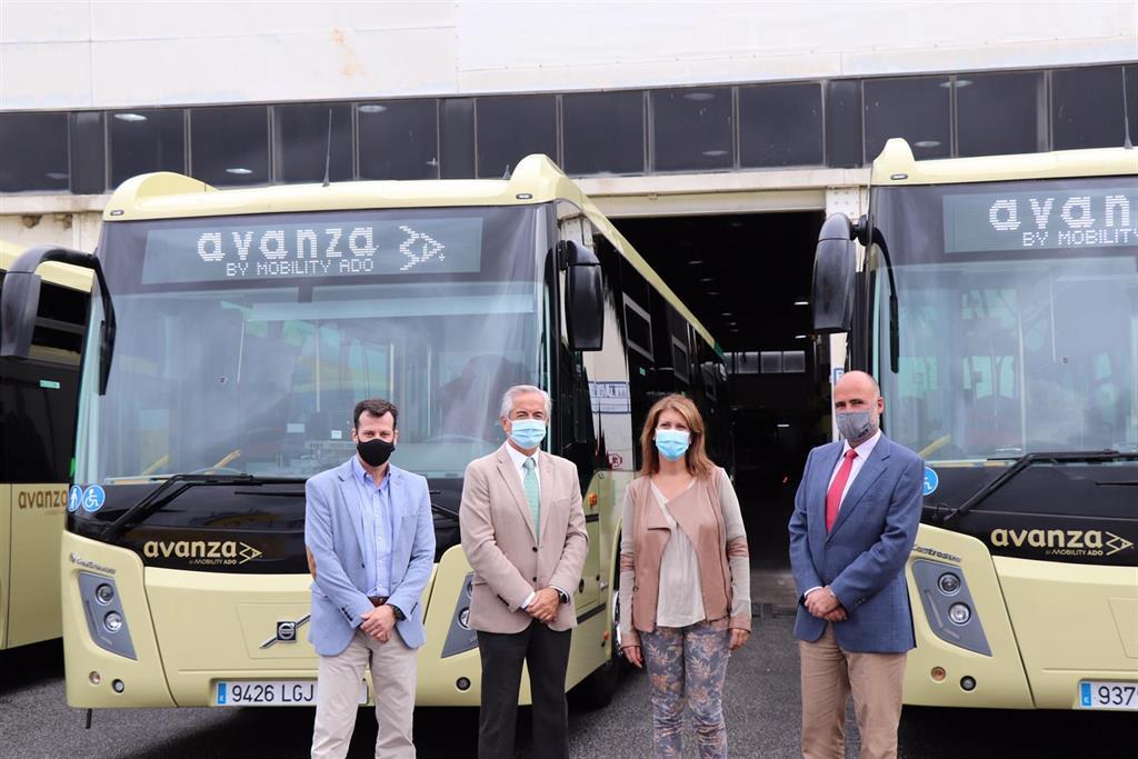 El Consorcio de Transporte Metropolitano del Área de Málaga incorpora diez nuevos autobuses para mejorar servicios 3