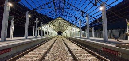 Acciona y Avintia aprueban con éxito la iluminación de la nueva estación de Canfranc (Huesca)