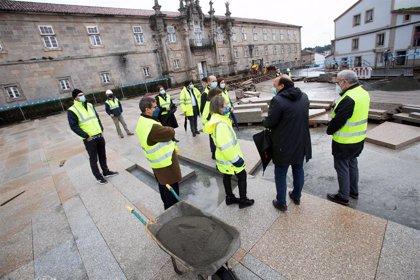 Todas las obras de integración y mejora de los caminos en Santiago estarán listas este año, salvo Concheiros