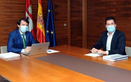 Mañueco plantea que CyL lidere acuerdos con CCAA con las que comparte problemas de cara al reparto de fondos europeos