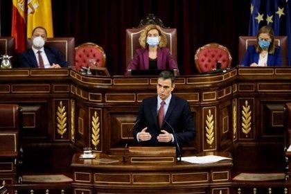 Pausa en el Congreso tras las primeras seis horas de debate de la moción de censura de Vox