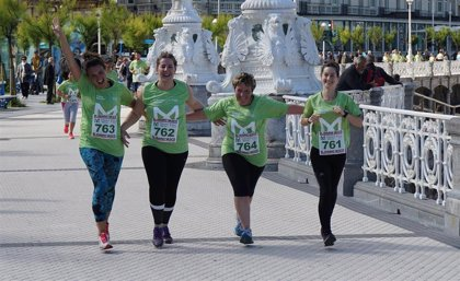 La carrera contra el cáncer Gipuzkoa Martxan será virtual este año y se celebrará el día 31