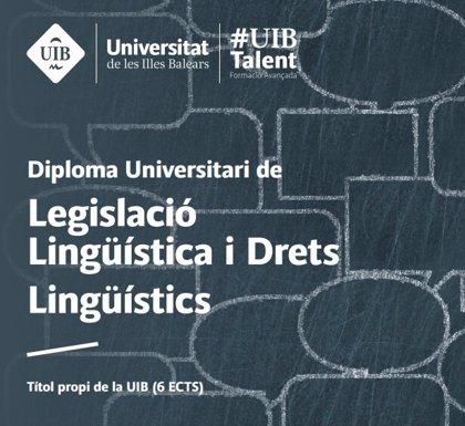 El diploma sobre legislación y derechos lingüísticos de la UIB cierra su periodo de inscripción el próximo lunes